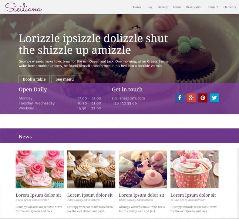 siciliana restaurant html5 template 16 788x723