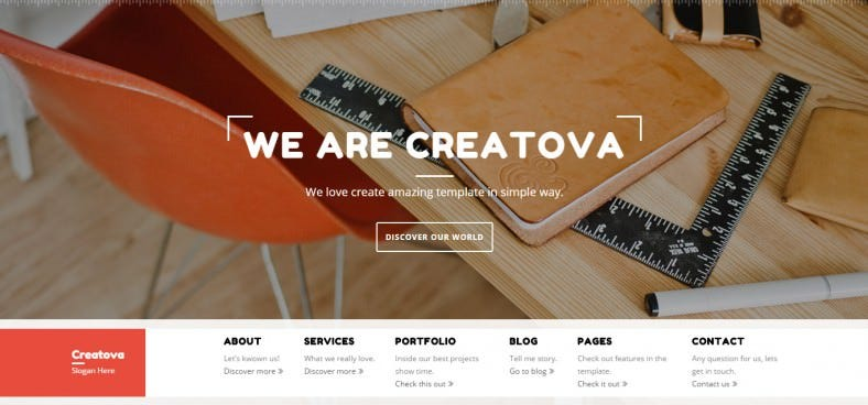 simple bootstrap template 788x368