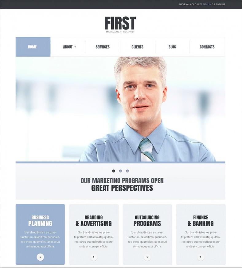 10 best marketing company joomla templates themes free simple marketing company joomla template 75 788x872 flashek Choice Image