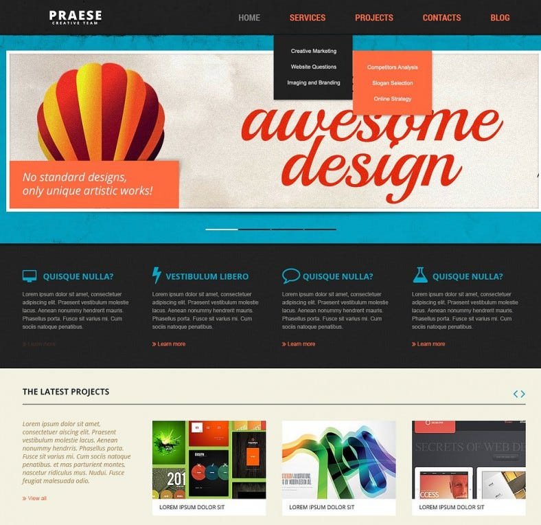 8 best web development company joomla templates themes free