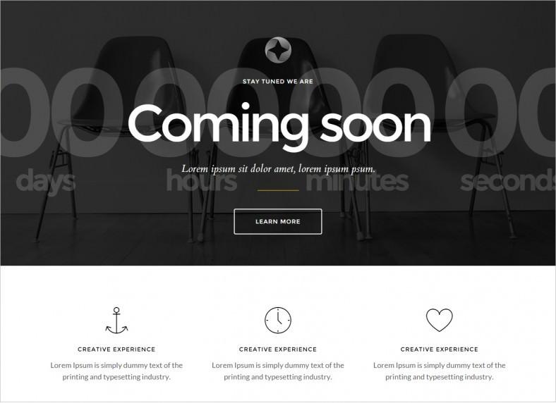 sirius responsive html5 coming soon page theme 6 788x572