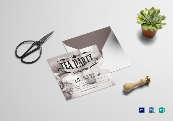 special-tea-party-invitation-template