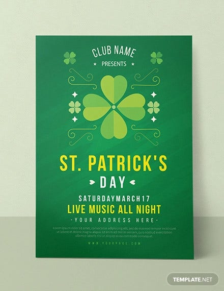 st patricks day invitation