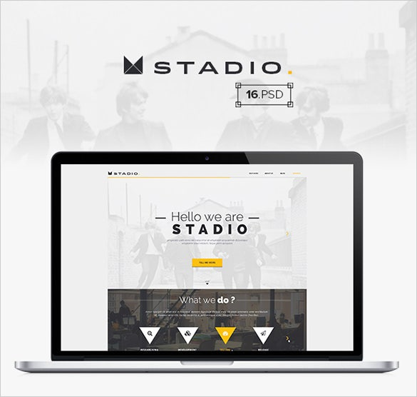 stadio – multipurpose creative psd template
