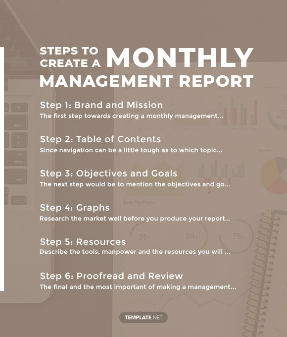steps to create a monthly management report1