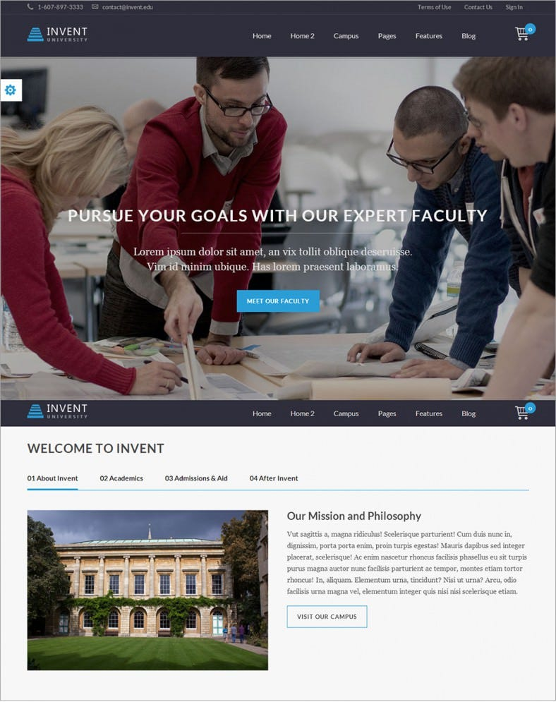 student education course college wordpress theme – 58 788x995