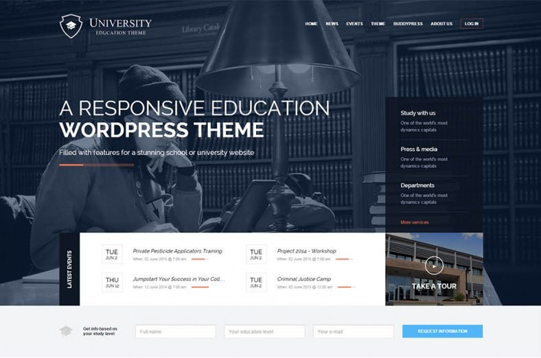 student university responsive wordpress theme – 39 788x522