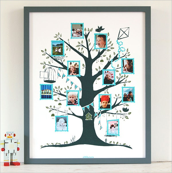 summerbelle family tree template for kids