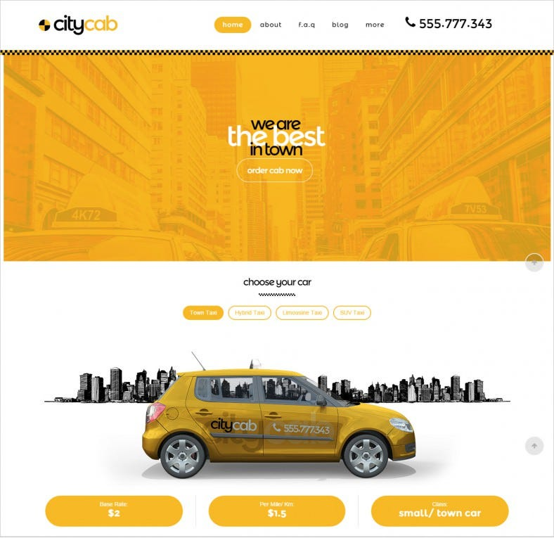 taxi firm wordpress theme 431 788x765