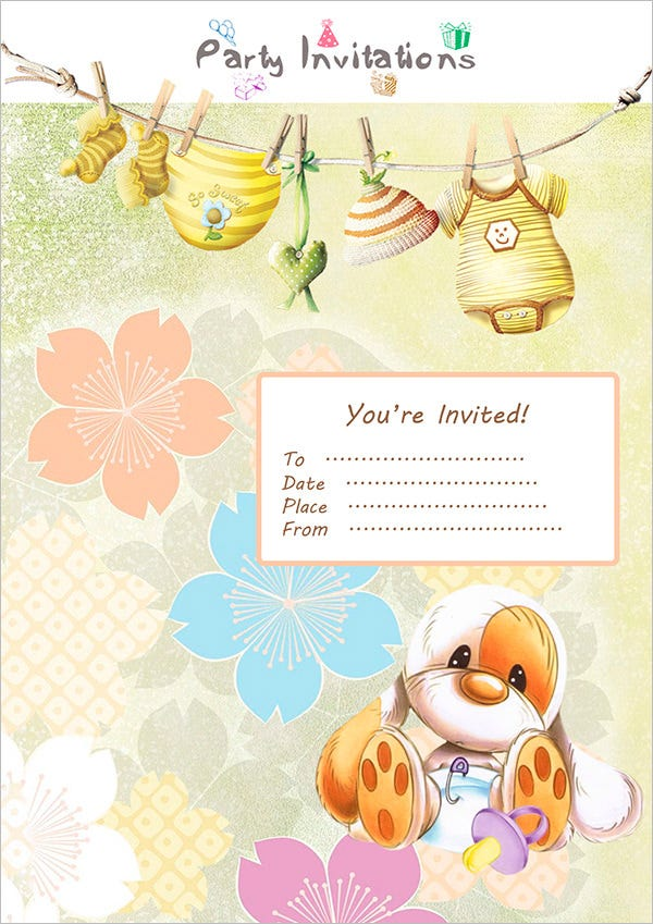 Tea Party Invitation Template - 42+ Free PSD, EPS, Indesign Format ...