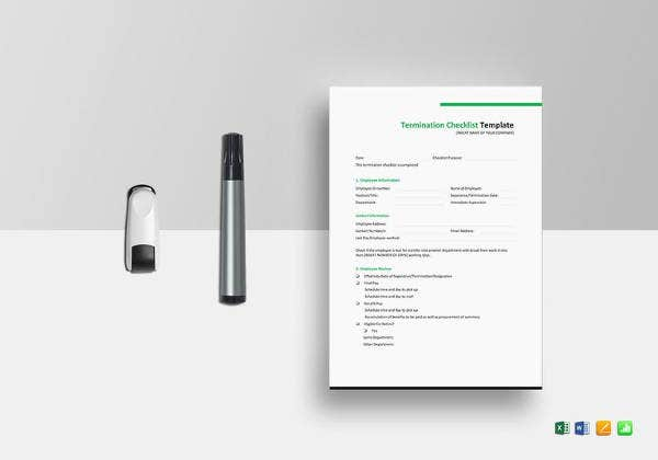 termination-checklist-template-in-ms-excel-format