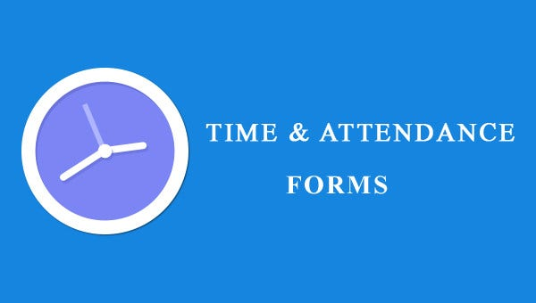 time and attendance form