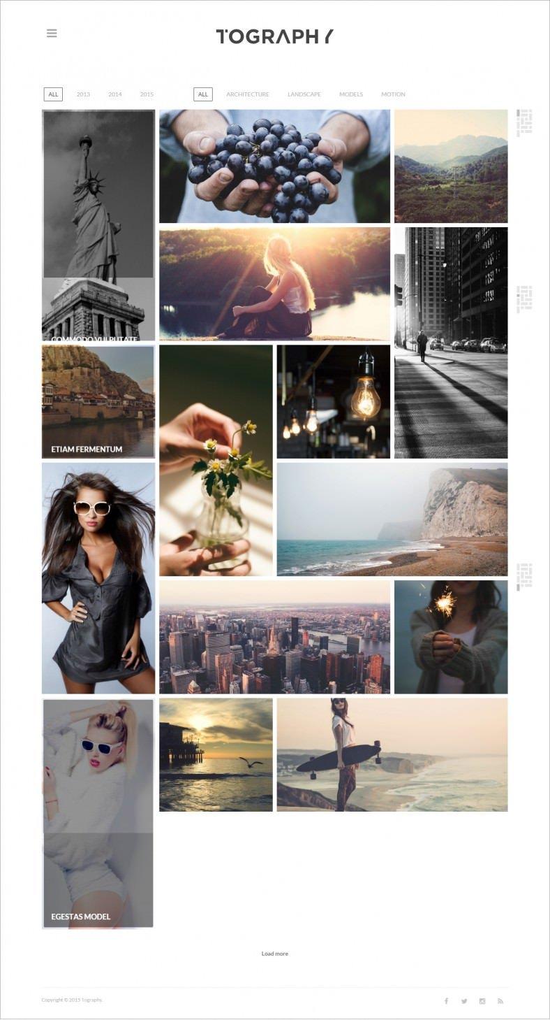 10 Best Artists Portfolio WordPress Templates & Themes | Free ...