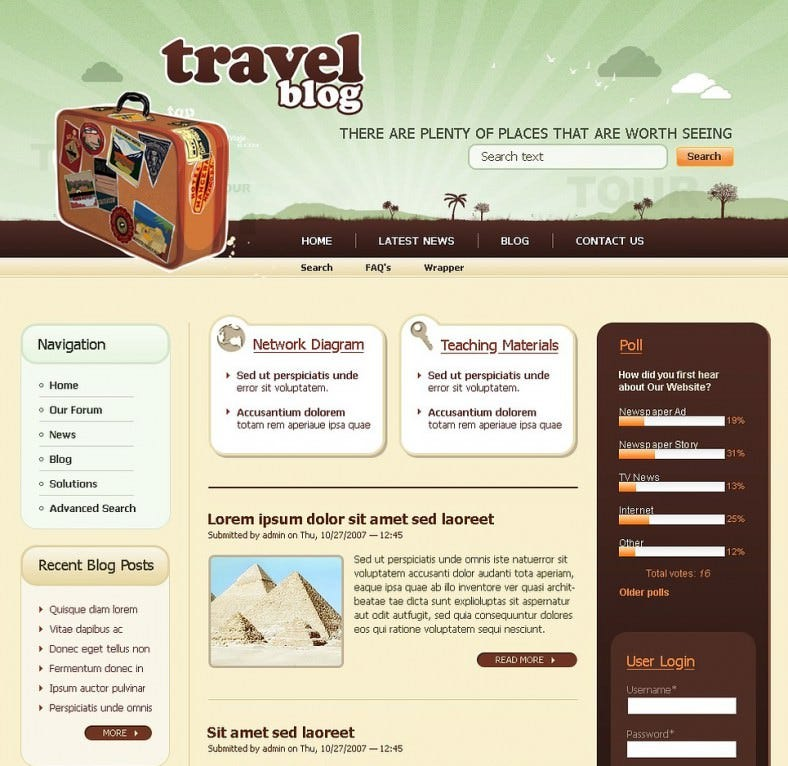 travel drupal template download 65 788x766