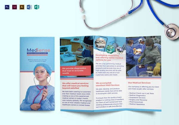 Medical Brochure Templates   Free Psd Ai Vector Eps Indesign