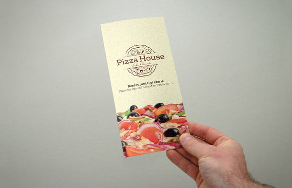 Pizza Menu Templates Free PSD EPS Documents Download Free - Folded menu template