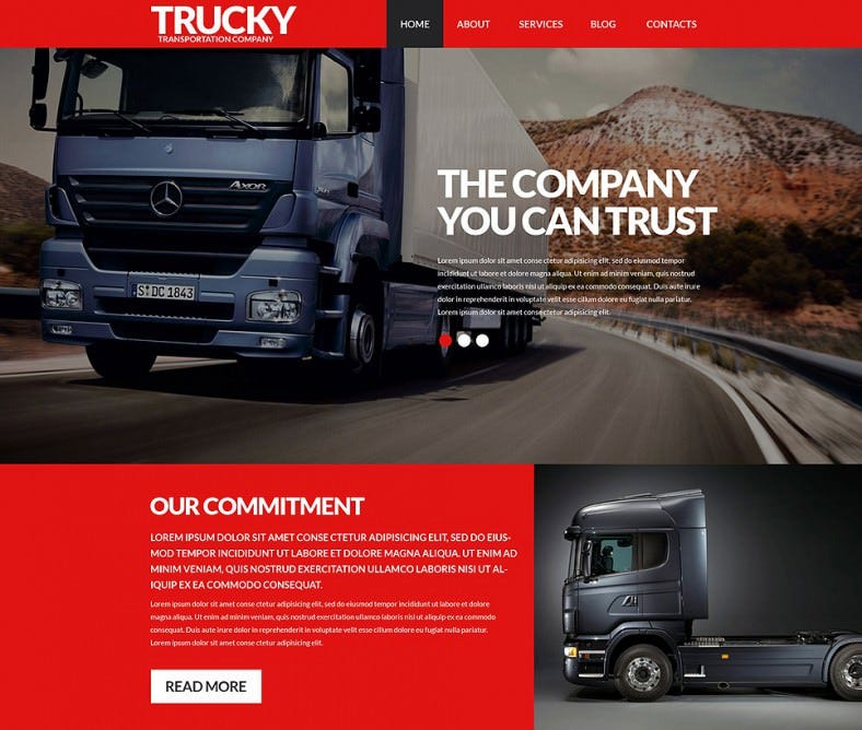 trucky red responsive wordpress theme 75 788x668