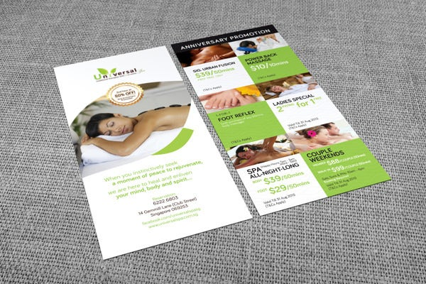 Spa Menu Template   Free Psd Eps Documents Download  Free