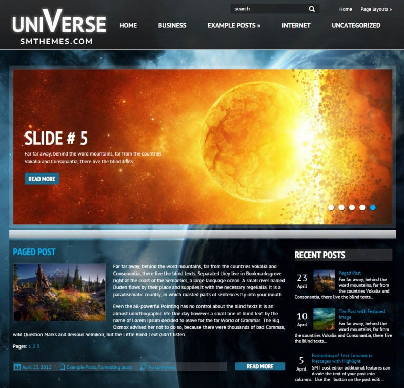universe space responsive wordpress theme 39 788x756