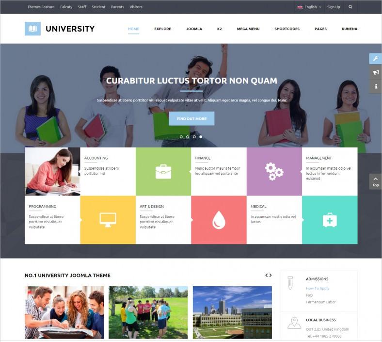 university student joomla theme 48 788x705
