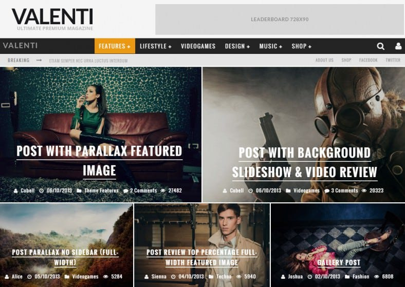 valenti responsive wordpress hd review magazine news theme 58 788x559