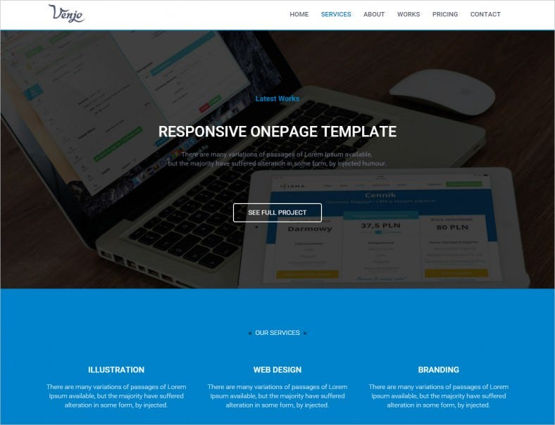 venjo multipurpose html5 theme 10 788x604