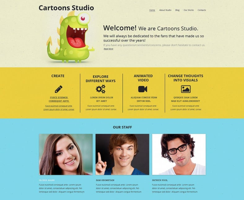 video lab drupal template 788x648