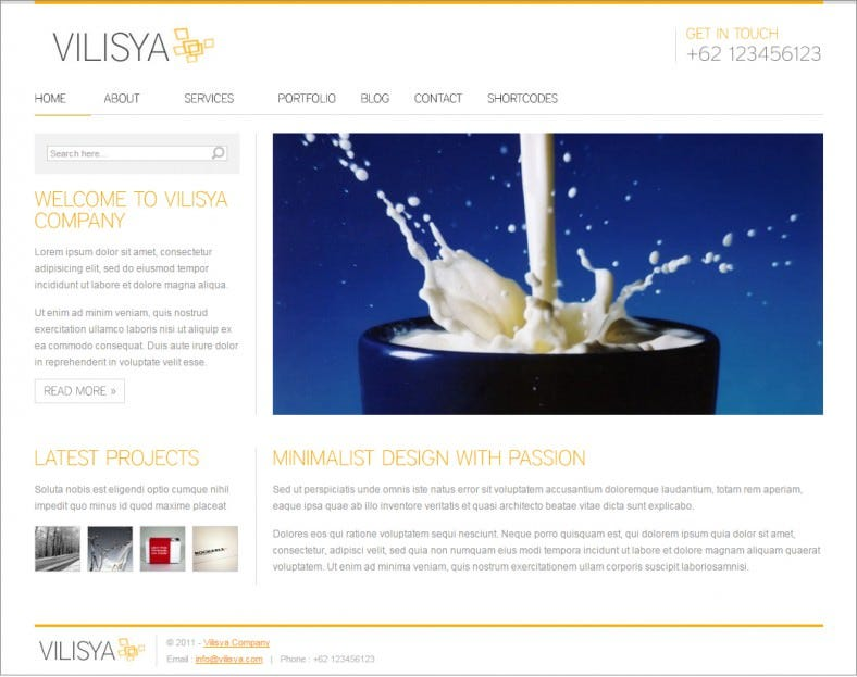 vilisya orange responsive wordpress themes 43 788x623