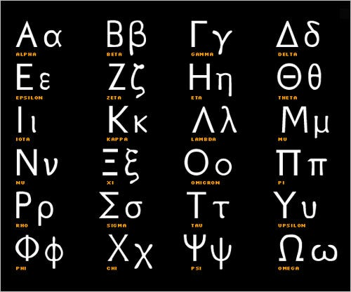 25+ Greek Alphabet Letters   Free Alphabet Letters Download | Free