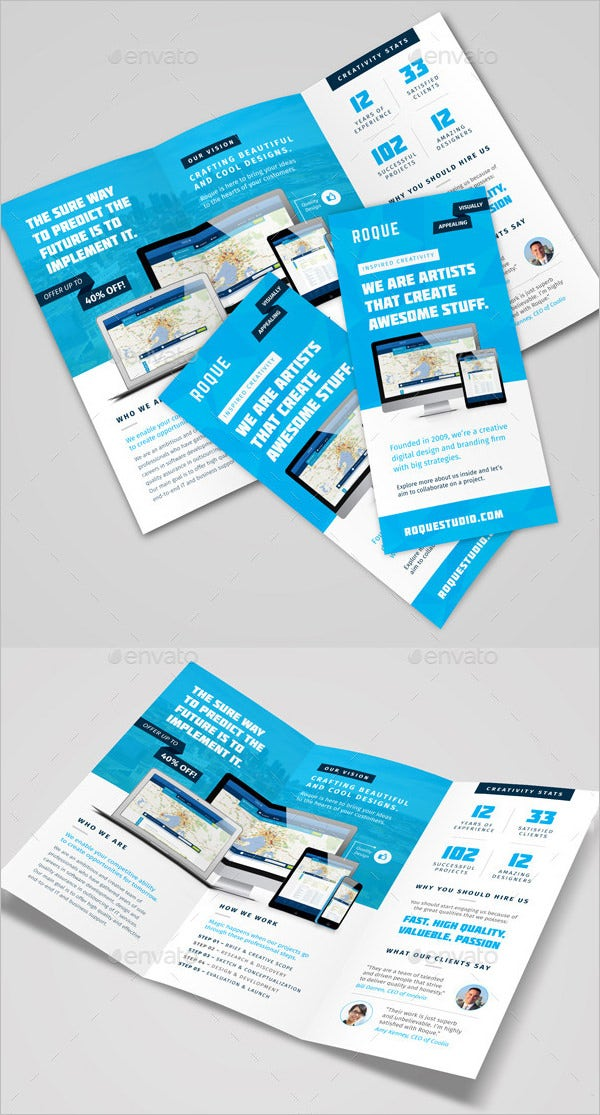 digital brochure templates - 17 fresh digital brochure templates free psd vector