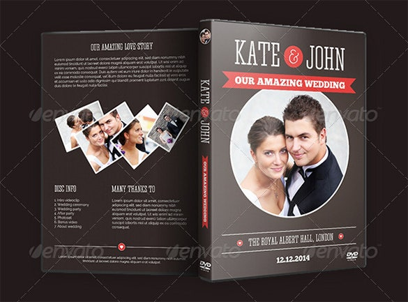 wedding psd digital album template sample