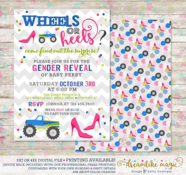 wheels-or-heels-gender-reveal-invitation-template