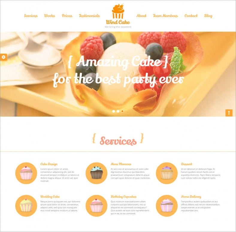 windcake orange responsive wordpress themes 43 788x774