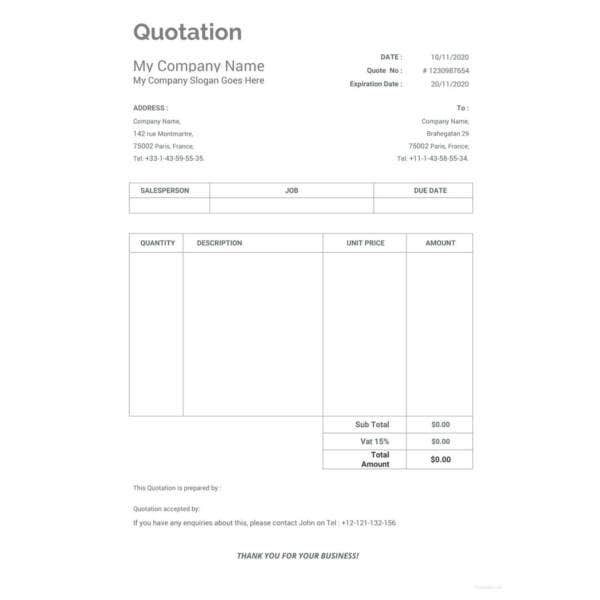 work-quotation-template