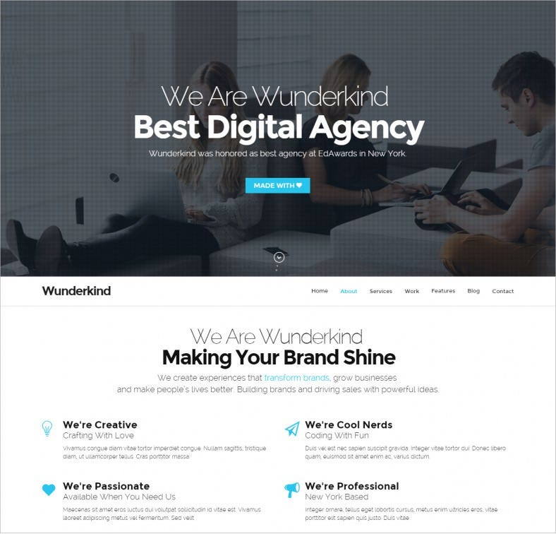wunderkind one page fullscreen drupal theme 43 788x756