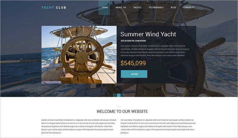 yacht club drupal template 788x456