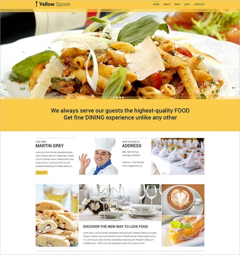 yellow spoons responsive wordpress themes 75 788x836