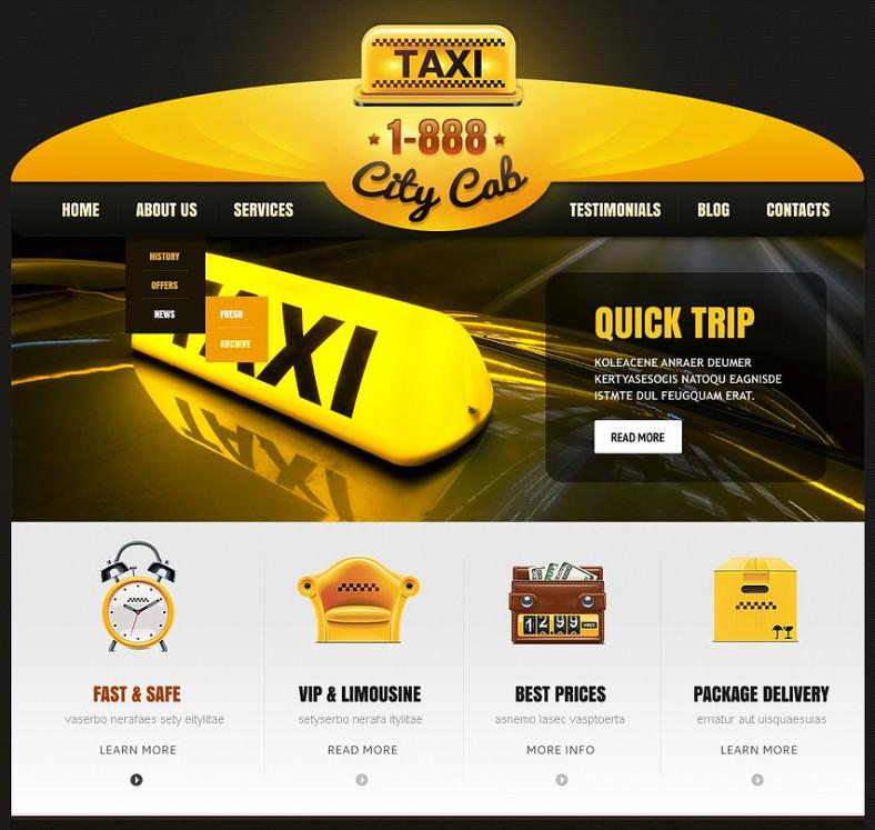 yellow taxi responsive wordpress theme 67 788x747