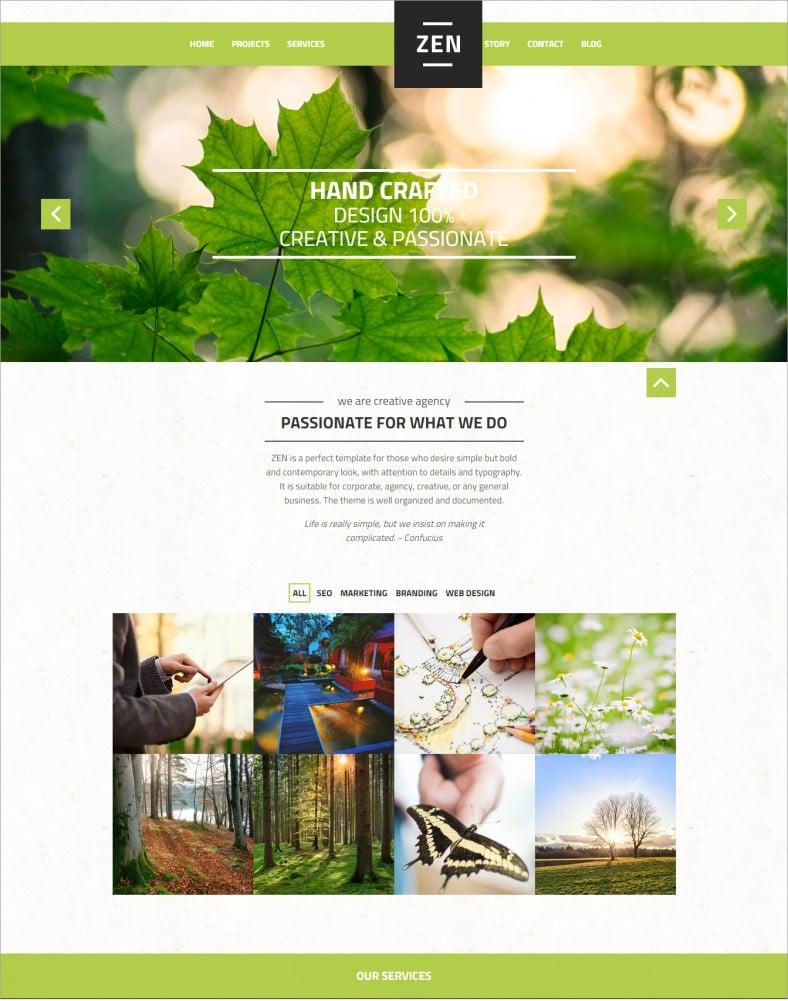 20 Best Green Homes Australia: 20 Best Green Wordpress Templates & Themes