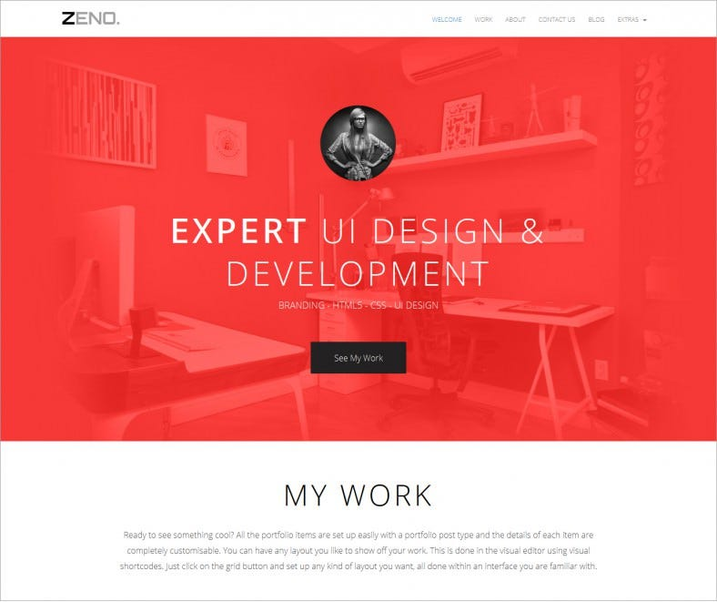 zeno red responsive wordpress portfolio theme 49 788x661