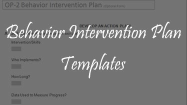 behaviorintervension