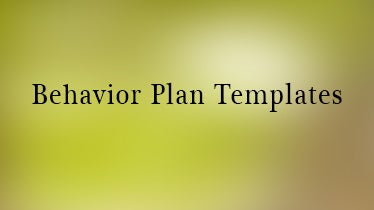 behaviorplantemplates