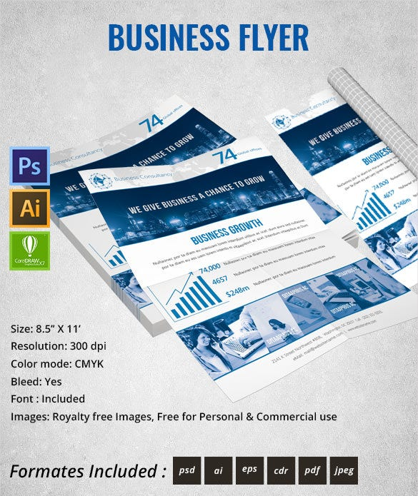 business_Consultency_flyer