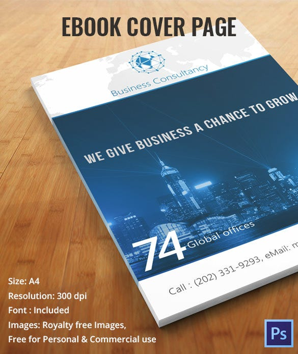 free ebook covers templates - multi purpose business consultancy template package free