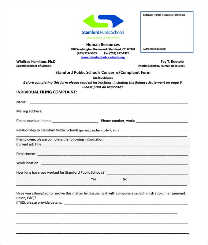 employee complaint paper Employee development (use letterheaded paper showing home/business other points of note when dealing with customer complaints and complaints letters.