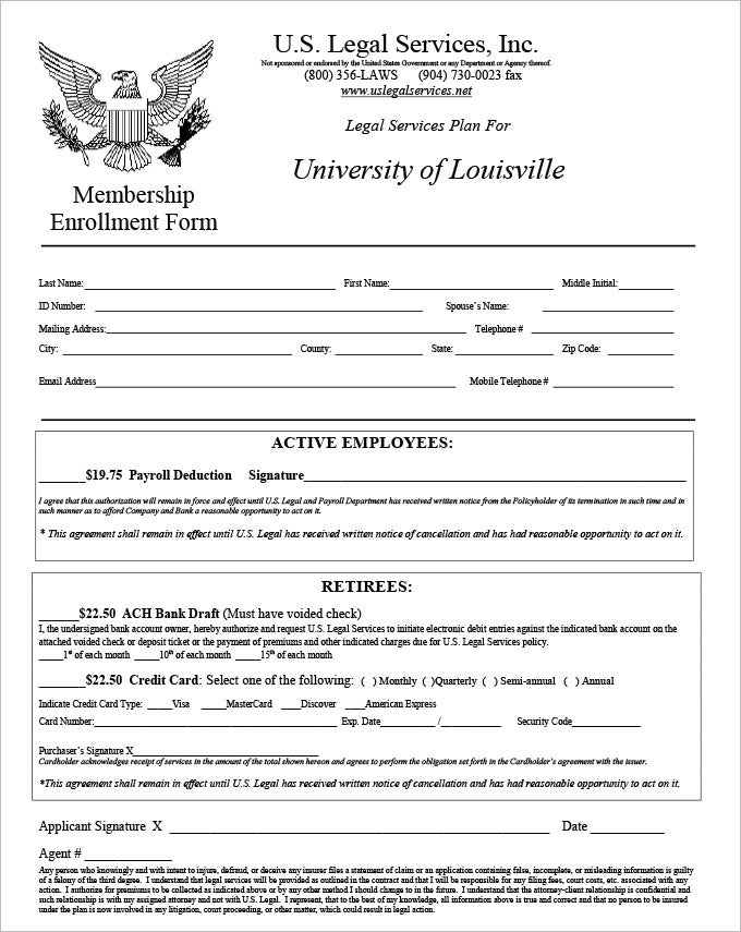 4 HR Legal Form Templates | HR Templates | Free & Premium ...