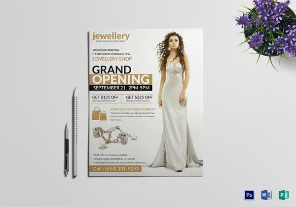 jewellery grand opening