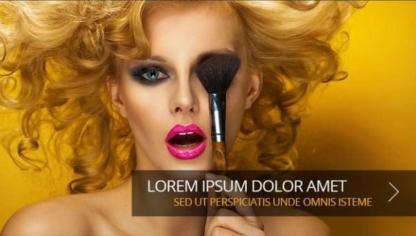 makeup artists website templates