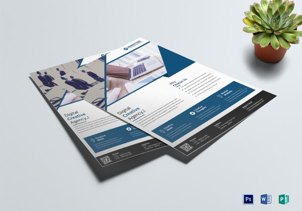 17 marketing flyer template free psd eps documents download