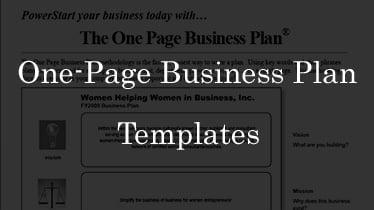 onepagebusinessplantemplates